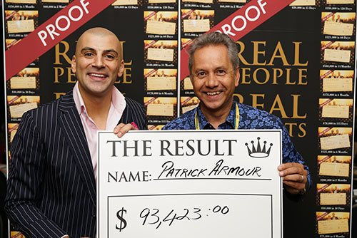 Evening With Aaron - Results - $93,423.00
