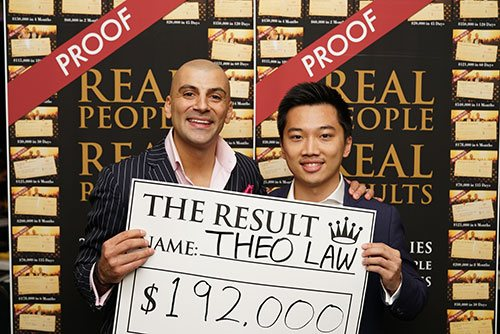 Evening With Aaron - Results - $192,000.00
